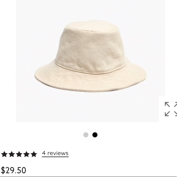 Madewell Short Brimmed Canvas Bucket Hat 2353391695e2